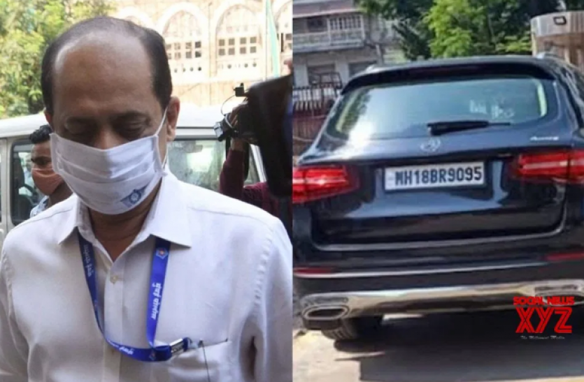 महाराष्ट्र : ATS दफ्तर पहुंची NIA , अपने कब्जे में लेगी सचिन वाझे की वॉल्वो कार