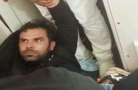 हवा में उड़ रहे प्लेन का इमरजेंसी गेट खोलने लगा यात्री, सीआइएसएफ ने लिया हिरासत में