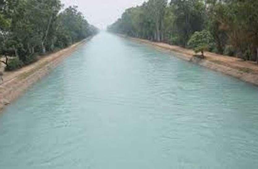 इंदिरागांधी नहर में बंदी शुरू, साठ दिन की बंदी में 29अप्रेल से होंगे रीलाइनिंग कार्य