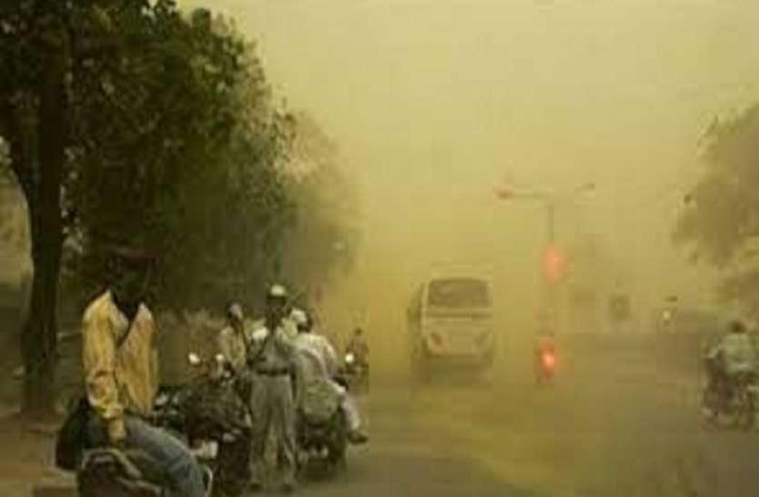 Weather Update: कानपुर सहित कई शहरों में धूल भरी आंधी ने पकड़ी रफ्तार, इस सप्ताह के लिए मौसम विभाग की चेतावनी