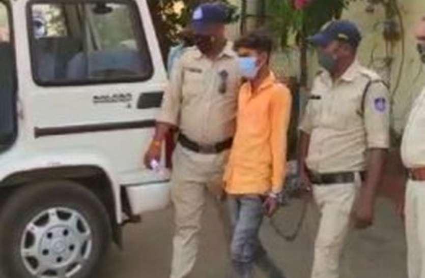 पुत्र ही निकला पिता का हत्यारा, हरसूद पुलिस ने 48 घंटे में किया खुलासा