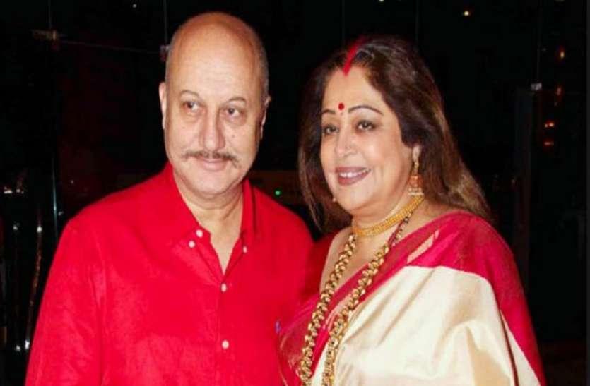 अनुपम खेर की पत्नी किरण खेर को हुआ ब्लड कैंसर, मुंबई में चल रहा इलाज
