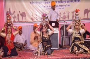 राजस्थान दिवस पर लोक कलाकारों ने बांधा समां