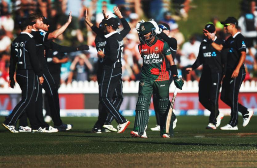 NZ vs BAN: एलेन की तूफानी पारी से न्यूजीलैंड ने बांग्लादेश के खिलाफ किया क्लीन स्वीप