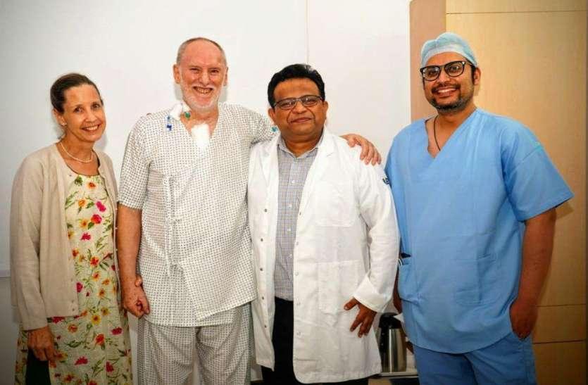 अमेरिकी नागरिक को हॉस्पिटल में मिली जीवन की नई सौगात,पढ़िए पूरी खबर