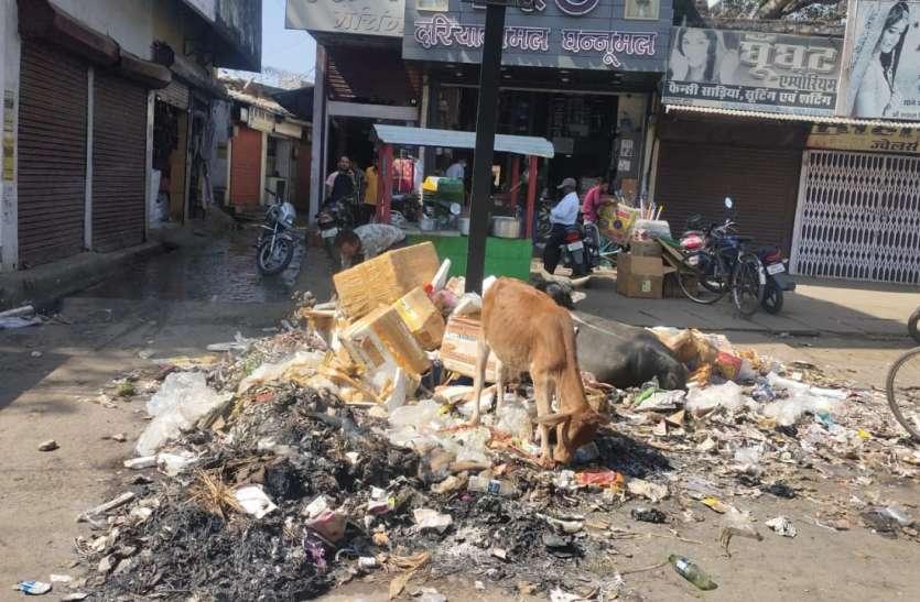 अघोषित कचराघरों से स्वच्छता में फेल