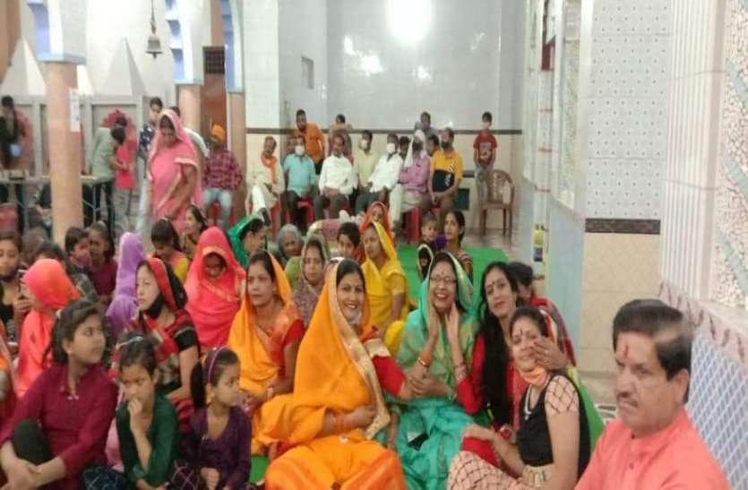 नंदीबाला मंदिर मे धूमधाम से मनाया गया रंगपंचमी महोत्सव