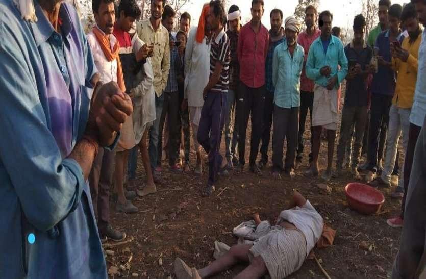 महुआ चुनने गए वृद्ध का बाघ ने किया शिकार, ग्रामीणों ने शव का पोस्टमार्टम करने से किया मना