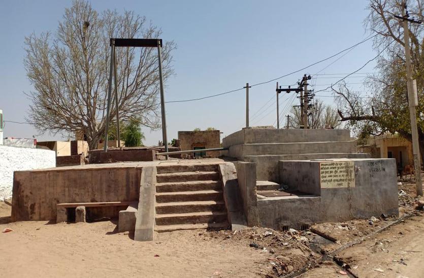 गन्दे पानी की निकासी की समस्या से ग्रस्त लूंछ गांव