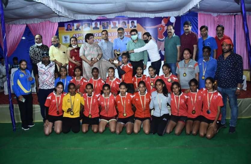 उत्तर प्रदेश व दिल्ली की टीम ने जीता संयुक्त कांस्य पदक