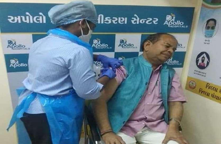 कोरोना का टीका लगवा चुके पाटण के सांसद की रिपोर्ट पॉजिटिव
