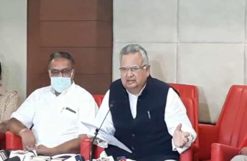 रमन ने CM भूपेश पर साधा निशाना: कहा - नक्सल मुठभेड़ में 22 जवानों ने गंवाई जान, इधर CM को असम चुनाव से फुर्सत नहीं