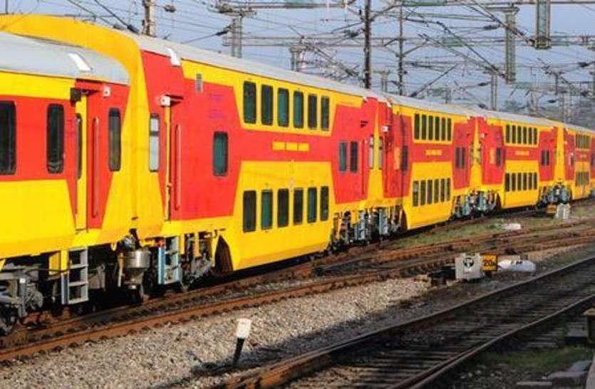 रेल यात्रियों के लिए राहत की खबर, फिर दौड़ेगी जयपुर-दिल्ली डबल डेकर ट्रेन