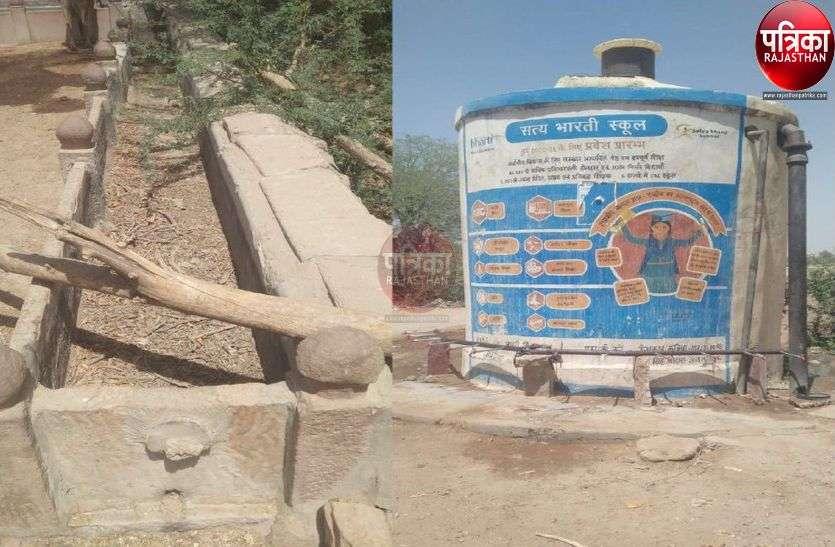 चौराई में नीर की पीर : गांवों में जीएलआर खाली, टैंकरों के पानी से बुझा रहे प्यास