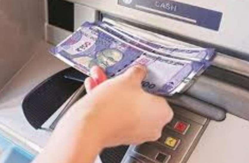 एटीएम मशीन - चेक से भी मिलेगा नगद भुगतान