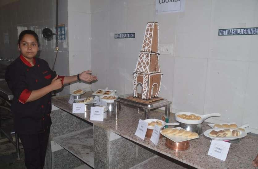 जिंजर ब्रेड से बनाया एफएल टावर, खाने के साथ शोपीस में आता है काम