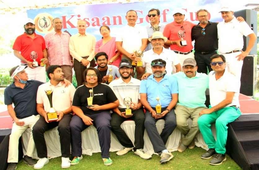 किसान गोल्फ कप : रोहित, संदीप और अश्विनी ने जीते खिताब