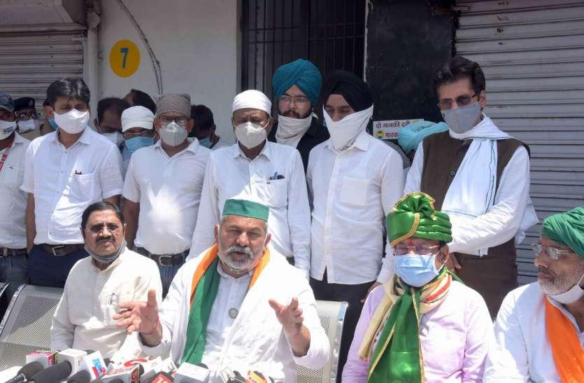 Gujarat: टिकैत ने कहा , किसानों की जमीन निजी कंपनियों को सौंपी गई