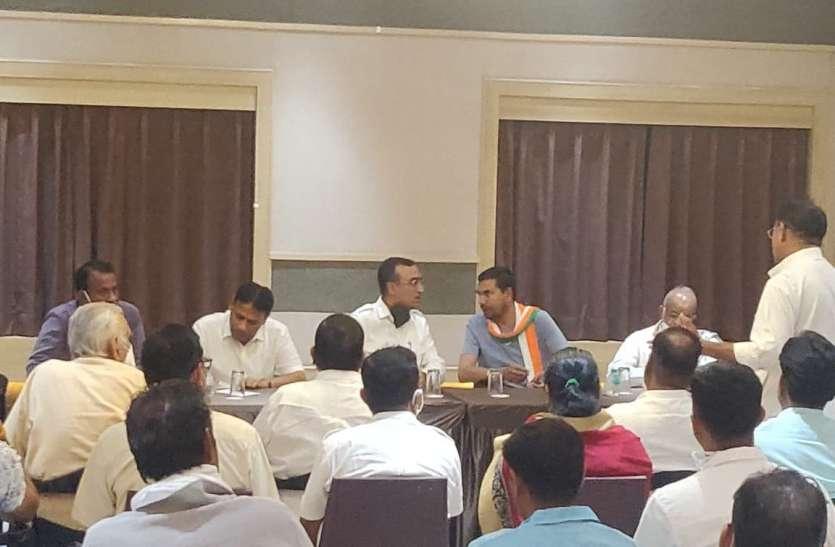 प्रभारी अजय माकन ने कार्यकर्ताओं को उपचुनाव जीत का मंत्र दिया
