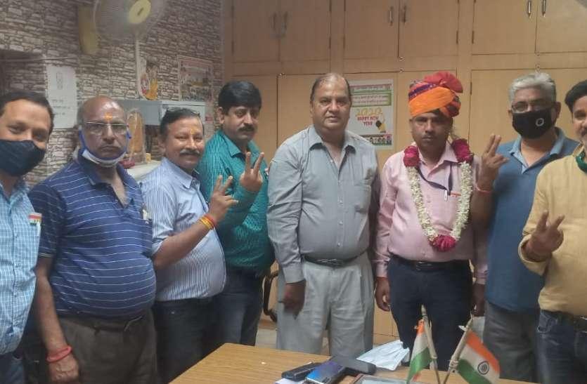 RAILWAY---शर्मा जोनल कार्यकारी महासचिव निर्वाचित