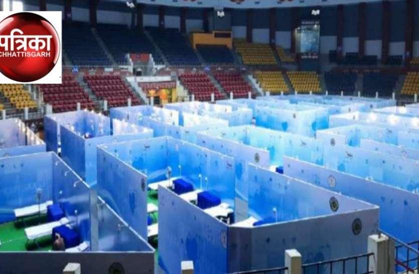 इंडोर स्टेडियम में फिर से बनेगा 500 बिस्तर का अस्थाई कोविड अस्पताल