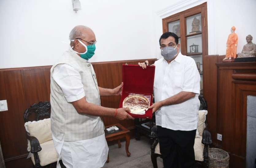 विधानसभा अध्यक्ष दिल्ली में केंद्रीय मंत्रियों से की मुलाकात, विंध्य की इन सडक़ों को लेकर की चर्चा