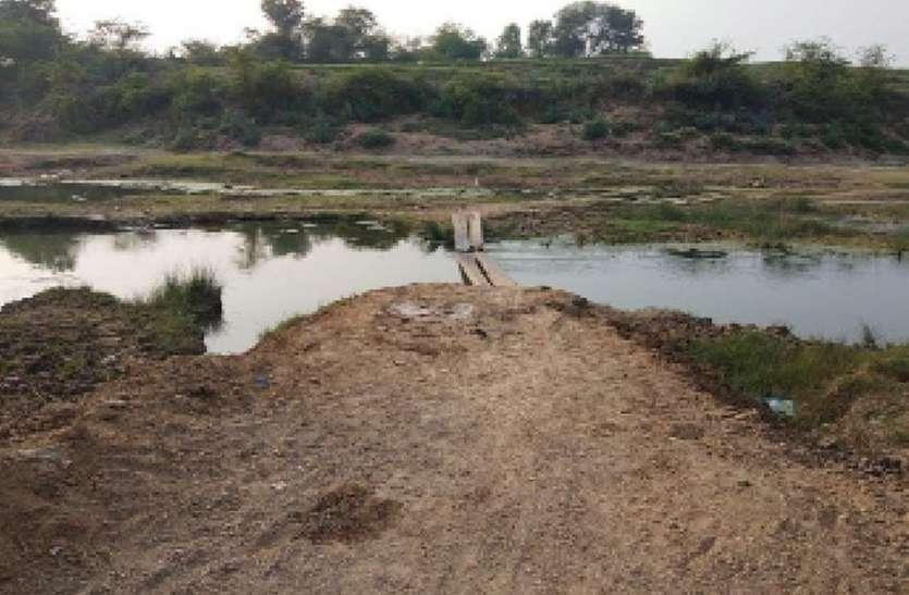 वर्षों से चली आ रही मांगली नदी पर पुलिया बनाने की मांग