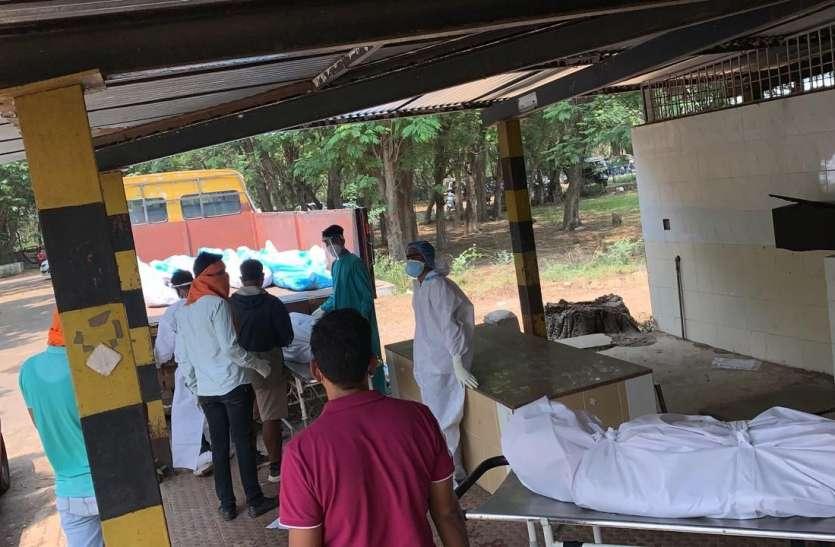 OMG जिला में कोरोना संक्रमितों की हर घंटे में हो रही मौत, कम्युनिटी स्पेड जैसे हालात