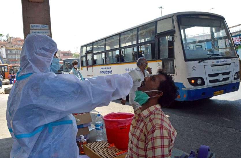 बेंगलूरु के रिहायशी कॉम्पलेक्सों के लोग वहां आयोजनों के कारण संक्रमित हुए