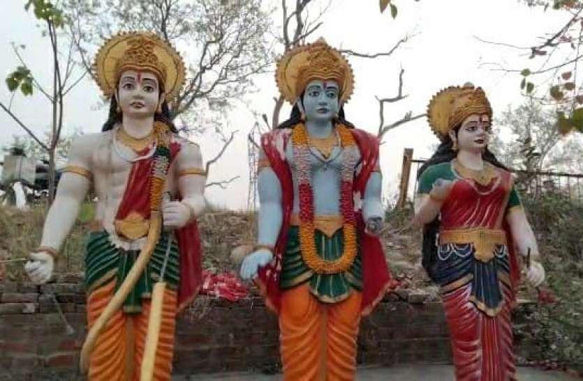 रामपुर में माहौल बिगाड़ने की कोशिश, धर्मिक स्थल में मूर्तियों काे खंडित किया