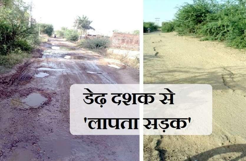 डेढ़ दशक से 'लापता सड़क' का दंश झेल रहे ग्रामीण