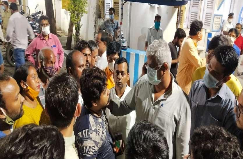 WEST BENGAL ASSMEBLY ELECTION 2021-भवानीपुर में केंद्रीय मंत्री शेखावत के काफिले पर हमला