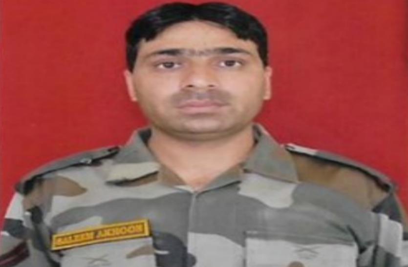 जम्मू-कश्मीर: बौखलाए आतंकियों ने छुट्टी पर घर आए निहत्थे जवान की गोली मारकर हत्या की