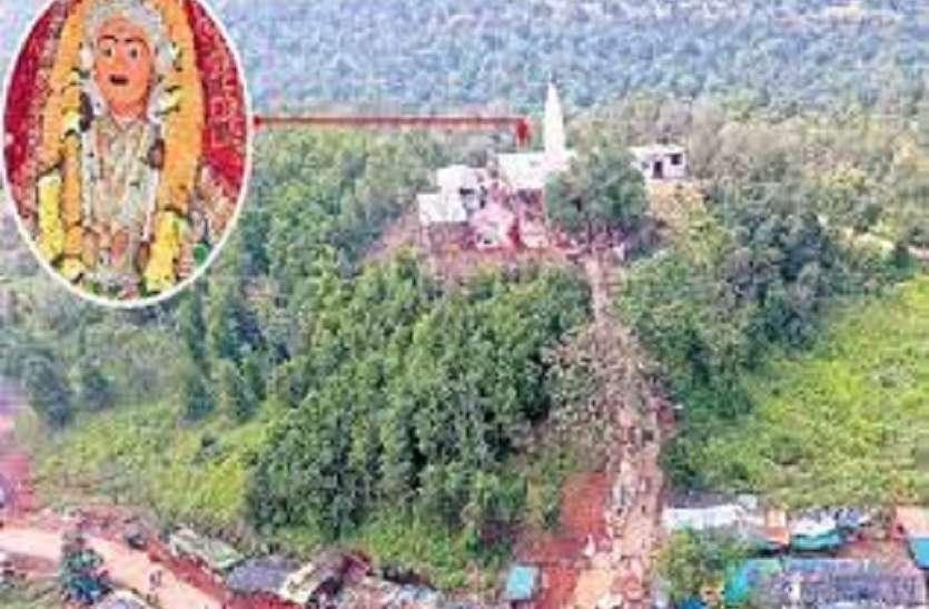 निहाल देवी माता मंदिर पर चोरों का धावा,दानपेटी सहित अन्य सामान ले गए चोर