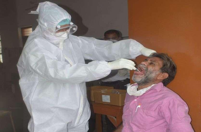 जिले में अब तक का सबसे बड़ा कोरोना विस्फोट, एक साथ आए 104 मरीज