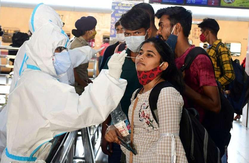जयपुर में नहीं थम रहा कोरोना का कहर, वैशाली में फिर सबसे ज्यादा केस मिले