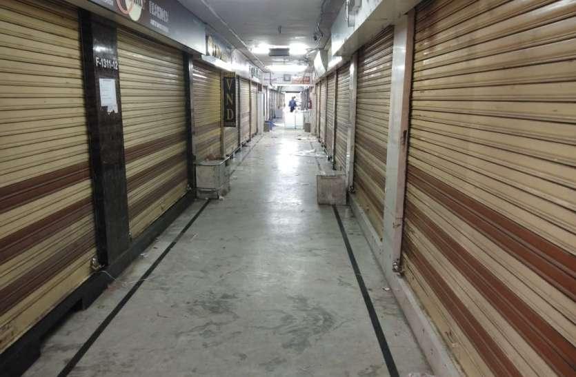 SURAT KAPDA MANDI: शाम होने से पहले बंद हो गया मिलेनियम मार्केट