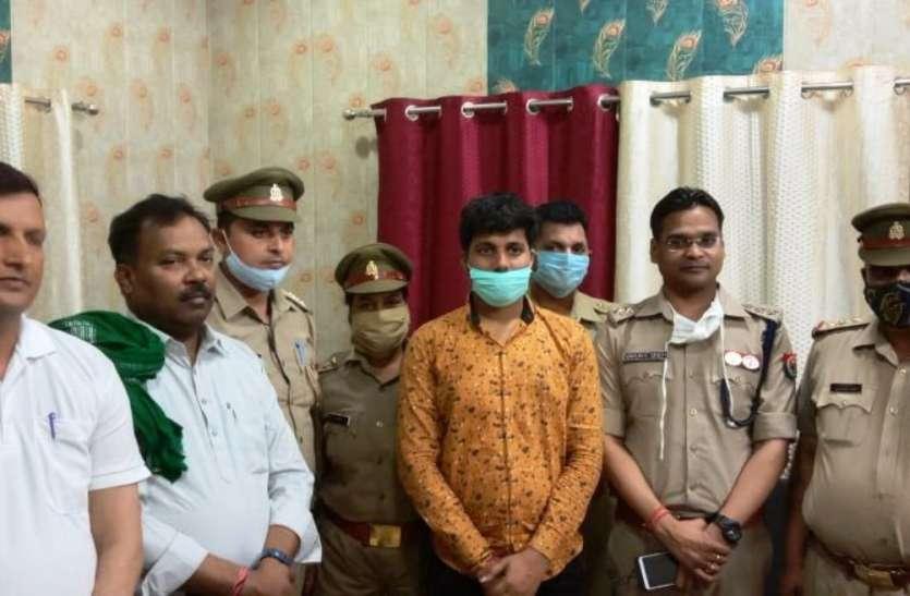 छात्र के अपहरणकर्ताओं से पुलिस की मुठभेड़ में एक बदमाश घायल, पुलिस ने छात्र को सकुशल किया बरामद