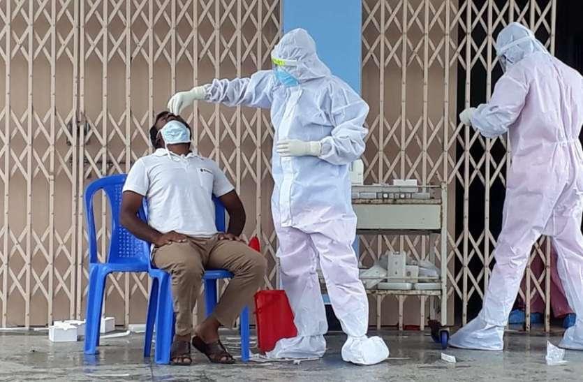 उम्मीदवार समेत 4,398 कोरोना वायरस से संक्रमित