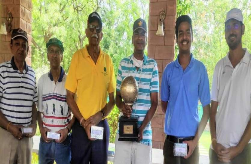 SPORTS---सूर्यवीर ने जीता गोल्फ कप