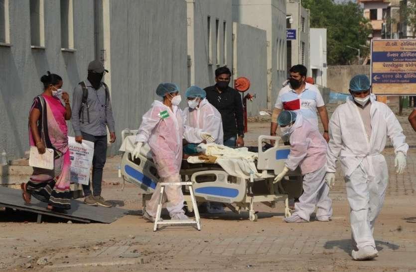 महाराष्ट्र में एक दिन में कोरोना के 61695 नए केस, 349 लोगों की मृत्यु