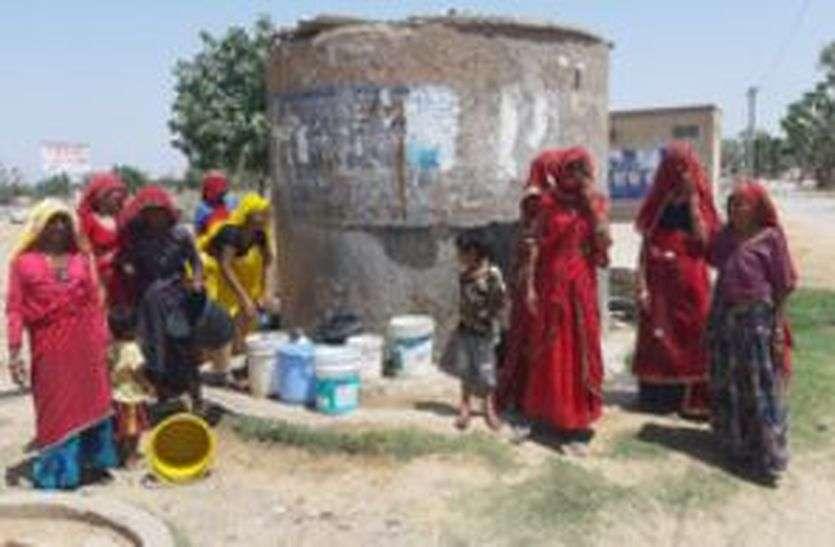 पत्रिका अभियान: सूखे हलक नहीं हो रहे तर, ग्रामीणों में बढ़ रहा आक्रोश