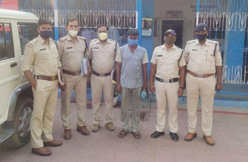 चोरी व लूट के प्रकरण में इनामी आरोपी गिरफ्तार, जानिए पुलिस कैसे पकड़ा