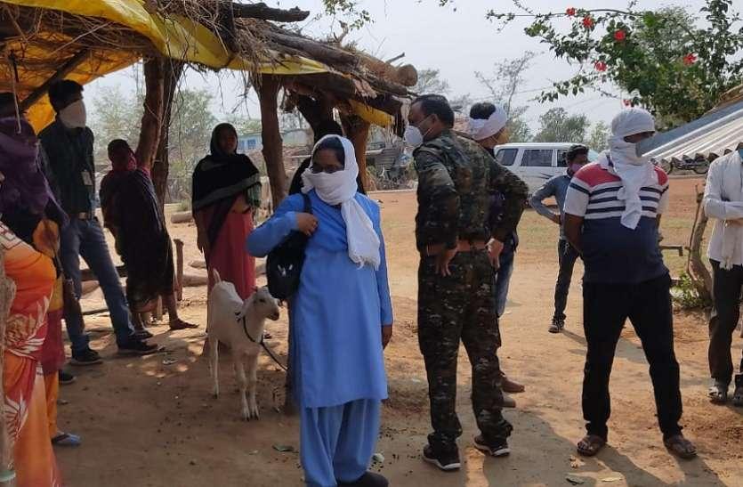 डोंगरमाली में रूकवाया गया हिमांशु का बाल विवाह