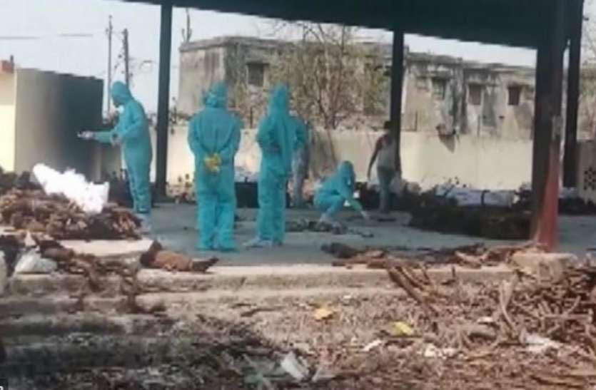7 दिनों में 668 सक्रमितों की मौत, श्मशानों में वेटिंग