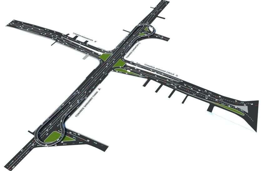 ट्रेफिक लाइट मुक्त चौराहे बनाने की फिजीबिलेटी रिपोर्ट पर लगाई मुहर