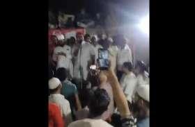 सपा विधायकों ने हजारों लोगों के साथ बिना मास्क लगाए की जनसभा, वीडियो सोशल मीडिया पर वायरल