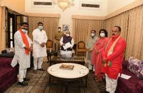 BJP प्रतिनिधिमंडल ने लगाई गुहार, 'राज्यपाल महोदय, उपचुनाव में सरकारी तंत्र का दुरुपयोग रुकवाइये'