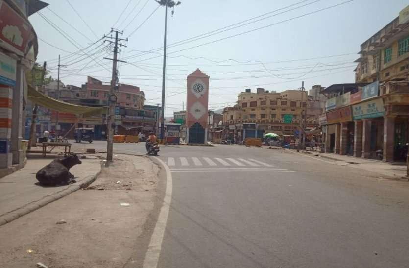 अलवर में बाजार बंद: लॉक डाउन जैसे हालात रहे, जिले भर में सफल रहा बंद
