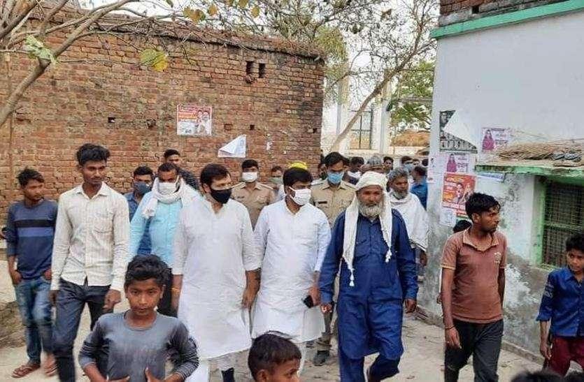 गिरफ्तारी के डर से फरार बाहुबली धनंजय सिंह आखिरी दिन पत्नी के चुनाव प्रचार में पहुंचे , तस्वीरें हुईंवायरल